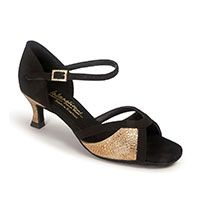 Bianca/LTB - Black Nubuck/Copper Frog (made to order)