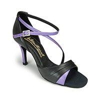 Karina - Black Calf/Lilac (MTO)