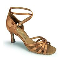 Melissa - Tan Satin (made to order)