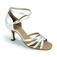 Melissa - White Satin (made to order)