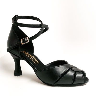 Barbara - Black Leather (made to order)