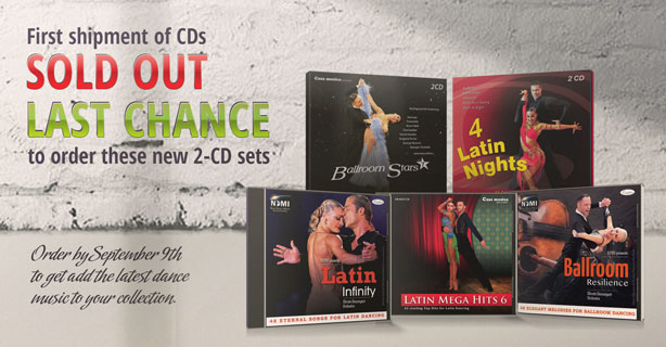 Last chance - new CDs