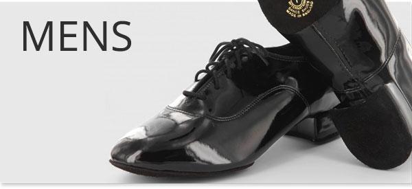Mens Ballroom and Latin Dance Shoes