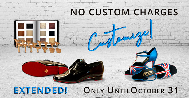 Customize your shoes with special orders