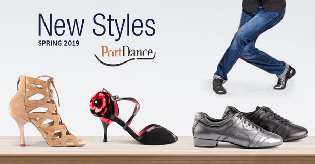 New Dance Shoe Styles in store